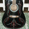 Pinstriping Design on Guitar